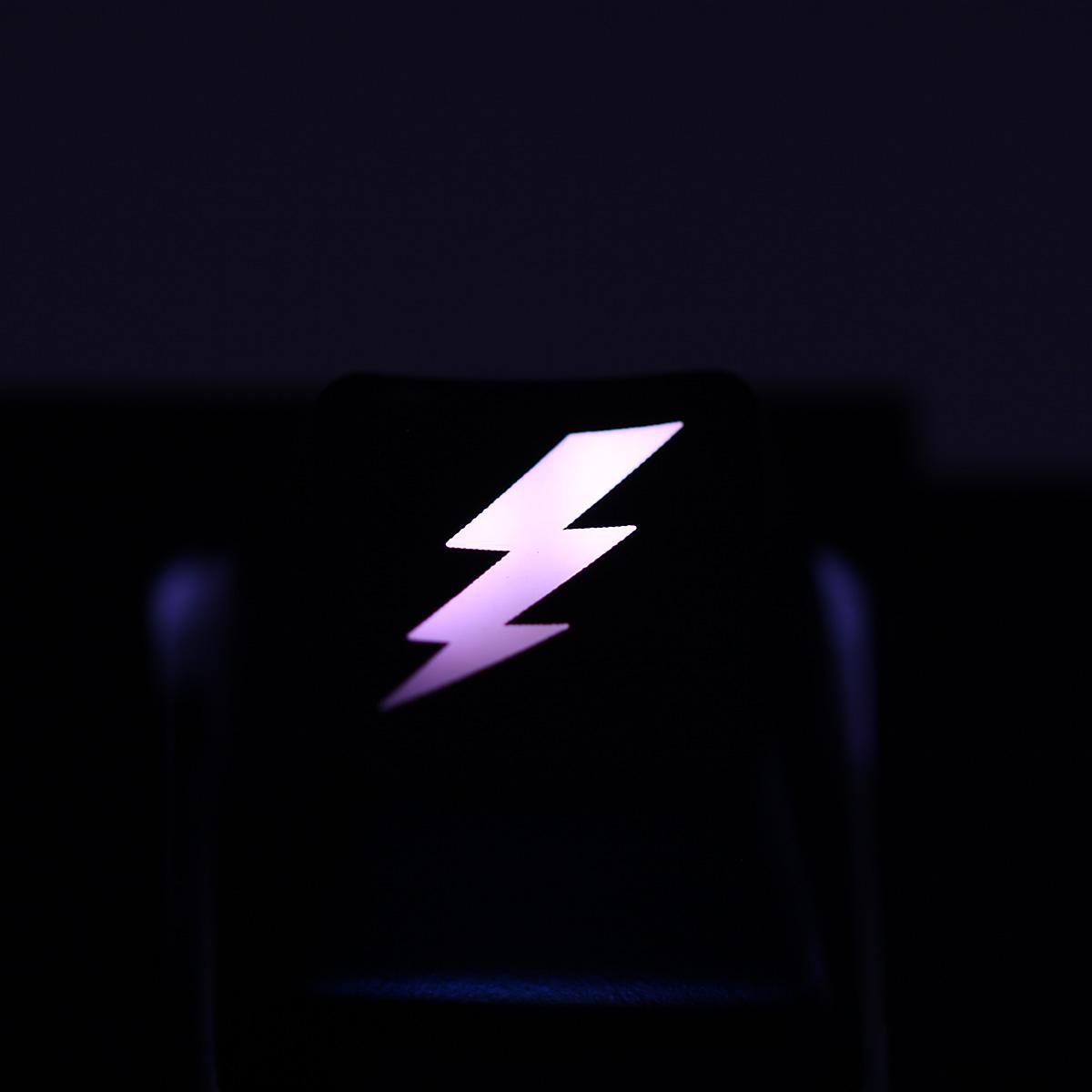r4 lightning bolt backlight cherry mx keycap