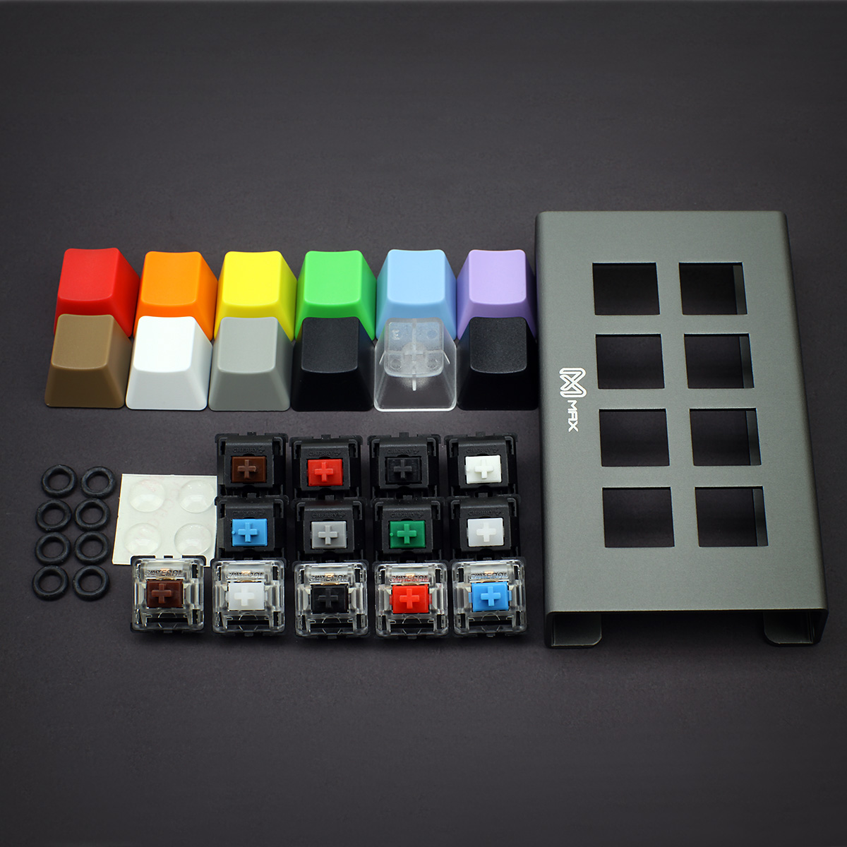 MAX Keycap, Cherry MX Switches, Gateron Switches, O-Ring Ultimate ...