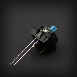Example: Max Keyboard Yellow 3mm Flangeless Replacement LED mounted on Cherry MX Switch
