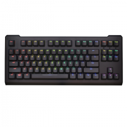 AN EXAMPLE: Max Keyboard Blackbird Full Custom Rainbow Color Backlit Mechanical Keyboard