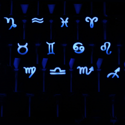 Max Keyboard Cherry MX Zodiac Horoscope icon backlight key cap pack set