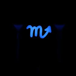 "Max Keyboard Custom R4 Zodiac Horoscope ""Scorpio"" Sign Backlight Cherry MX Keycap"