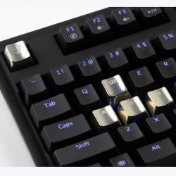 AN EXAMPLE: Cherry MX Metal (Zinc) Keycap Set for ESC & WASD Keys