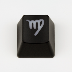 "Max Keyboard Custom R4 Zodiac Horoscope ""Virgo"" Sign Backlight Cherry MX Keycap"