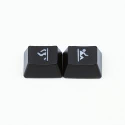 "Max Keyboard R1 / B profile row 1x1.25 Cherry MX ""Portal"" Custom Backlight Keycap Set"
