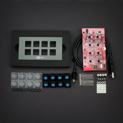 MAX FALCON-8 Programmable mini macropad mechanical keyboard (DIY KIT)