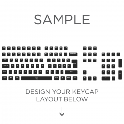 Max Keyboard ISO Layout Custom Backlight Keycap Set