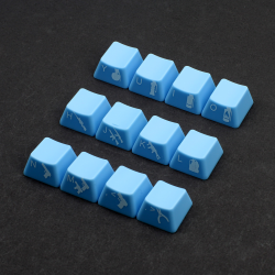 example max keyboard custom side printed cherry mx keycaps