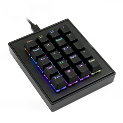MAX FALCON-20 RGB Programmable mini macropad mechanical keyboard (Assembled)