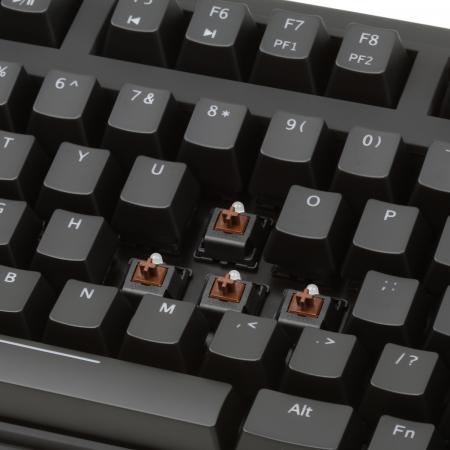 Max Nighthawk X8 Cherry MX Brown Backlit Mechanical Keyboard