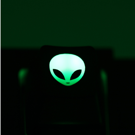 "Max Keyboard Custom R4 ""Alien"" Backlight Cherry MX Keycap"