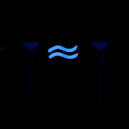 "Max Keyboard Custom R4 Zodiac Horoscope ""Aquarius"" Sign Backlight Cherry MX Keycap"