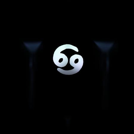 "Max Keyboard Custom R4 Zodiac Horoscope ""Cancer"" Sign Backlight Cherry MX Keycap"