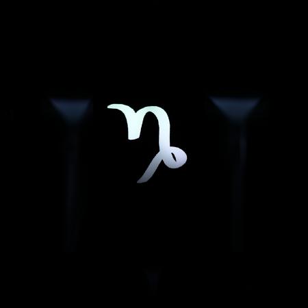 "Max Keyboard Custom R4 Zodiac Horoscope ""Capricorn"" Sign Backlight Cherry MX Keycap"