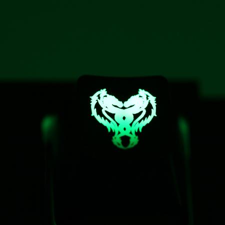 "Max Keyboard Custom R4 ""Double Dragon"" Backlight Cherry MX Keycap"