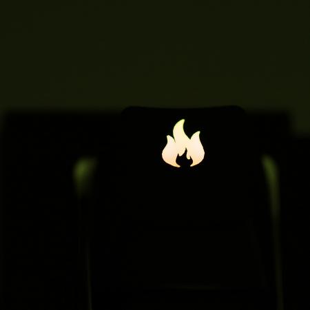 "Max Keyboard Custom R4 ""Fire"" Backlight Cherry MX Keycap"