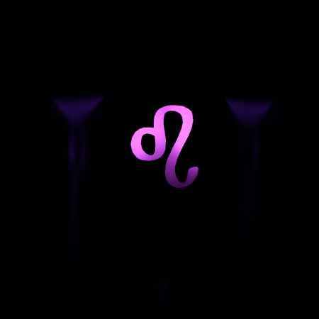"Max Keyboard Custom R4 Zodiac Horoscope ""Leo"" Sign Backlight Cherry MX Keycap"