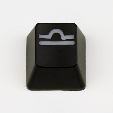 "Max Keyboard Custom R4 Zodiac Horoscope ""Libra"" Sign Backlight Cherry MX Keycap"