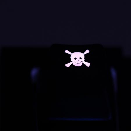 "Max Keyboard Custom R4 ""Skull w/ Crossbones"" Backlight Cherry MX Keycap"
