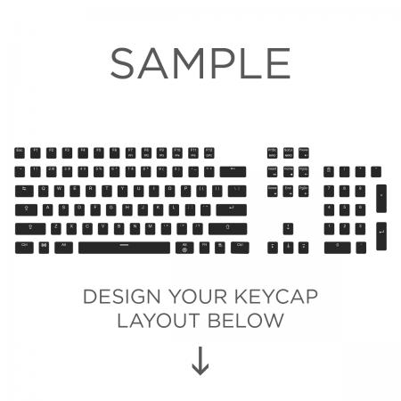 Max Keyboard ANSI Layout Custom Backlight Keycap Set