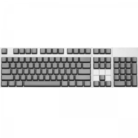 Max Keyboard ANSI 104-Key Cherry MX Blank Keycaps (Gray Color with 6.25x Unit Spacebar)