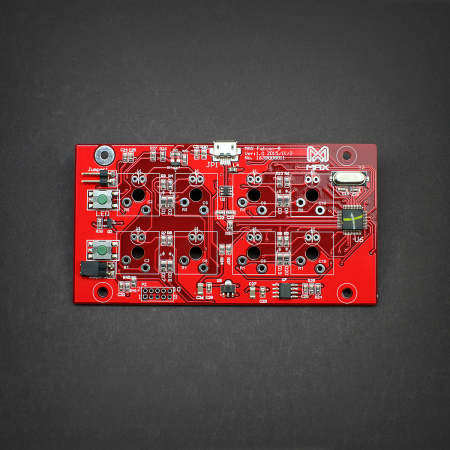 MAX Falcon-8 Programmable macropad PCB Printed Circuit Board