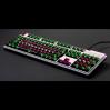 AN EXAMPLE: Max Keyboard Universal Cherry MX Translucent Clear Black Full Blank Keycap Set