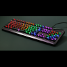 AN EXAMPLE: Max Keyboard Universal Cherry MX Translucent Clear Black Full Keycap Set (Top Print)