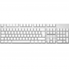 Max Keyboard ISO 105 Key Cherry MX Blank Keycaps (White Color with 6.25x Unit Spacebar)