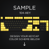 AN EXAMPLE: Max Keyboard 104-Key Layout Custom Color Cherry MX Full Replacement Keycap Set