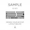 AN EXAMPLE: Max Keyboard ISO 62-Key Layout Custom Backlight Keycap Set