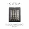 MAX FALCON-20 RGB Programmable mini macropad mechanical keyboard (DIY KIT)