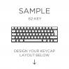 AN EXAMPLE: MAX Keyboard Custom White Translucent Side Print Backlight Keycap Set (60%)