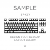 AN EXAMPLE: MAX Keyboard Custom White Translucent Side Print Backlight Keycap Set (87-KEY TKL)