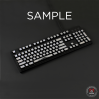 AN EXAMPLE: MAX Keyboard ANSI Custom White Translucent Top Backlight Keycap Set