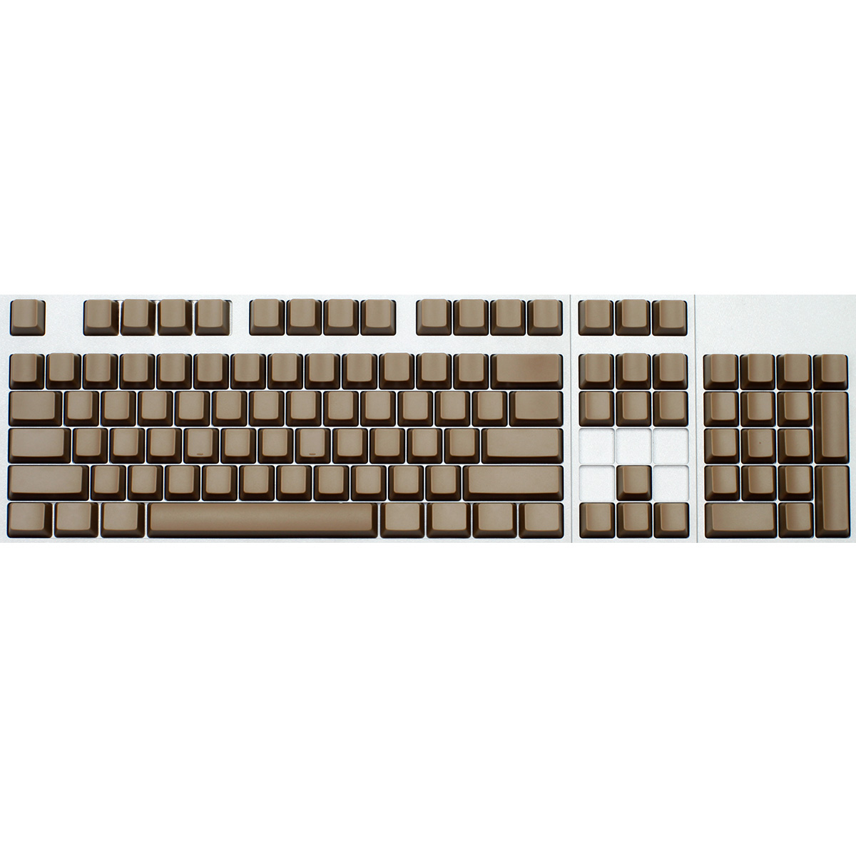 Max ANSI 104-key Cherry MX Replacement Keycap Set (Blank)