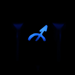 "Max Keyboar Custom R4 Zodiac Horoscope ""Sagittarius"" Sign Backlight Cherry MX Keycap"