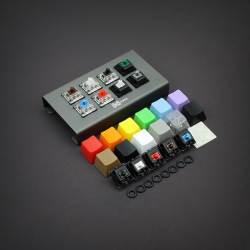 MAX keyboard Keycap, Cherry MX Switch, Gateron Switch, O-Ring Ultimate Sampler Tester Kit
