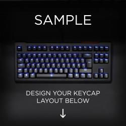 AN EXAMPLE: Max Keyboard ISO Layout Custom Backlight Keycap Set
