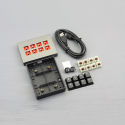 MAX Falcon-8 RGB Programmable Mini Macropad / Mechanical Keyboard (DIY KIT)