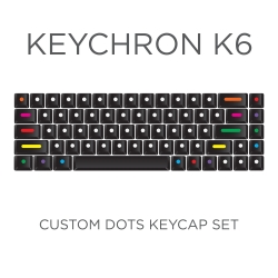 Keychron K6 Custom DOTS Keycap Set