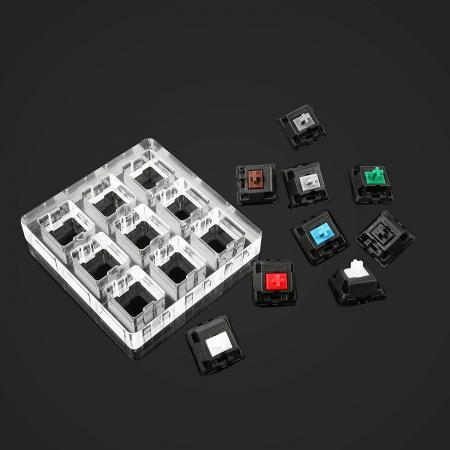 Max Keyboard Keycap, Cherry MX Switch, O-Ring Pro Sampler Tester Kit