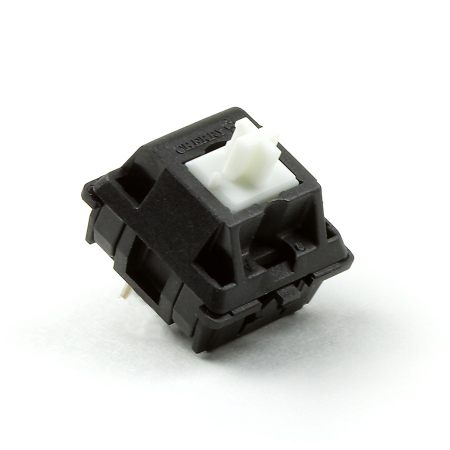 Cherry MX White Keyswitch - MX1A-A1NN (Firmer Tactile Click & Tactile Bump)