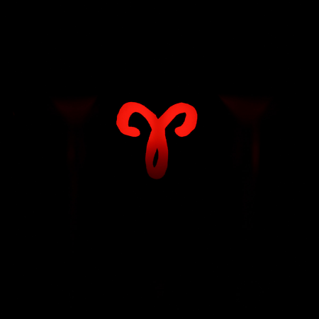 "Max Keyboard Custom R4 Zodiac Horoscope ""Aries"" Sign Backlight Cherry MX Keycap"