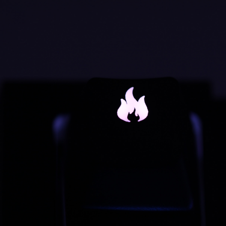 "Max Keyboard Custom R4 ""Fire"" Backlight Cherry MX Keycap"