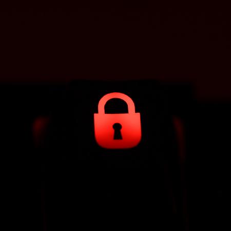 "Max Keyboard Custom R4 ""Padlock"" Backlight Cherry MX Keycap"