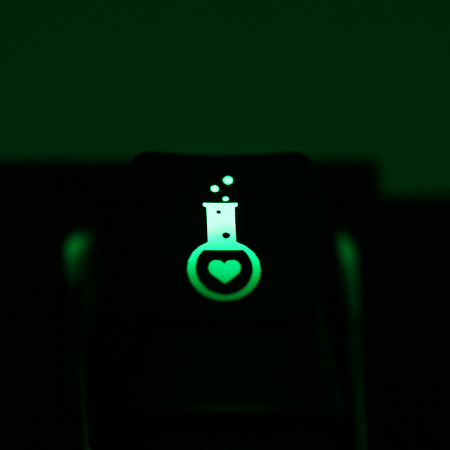 "Max Keyboard Custom R4 ""Love Potion"" Backlight Cherry MX Keycap"