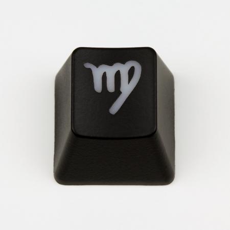 "Max Keyboard Custom R4 Zodiac Horoscope ""Virgo"" Sign Backlight Cherry MX Keycap"