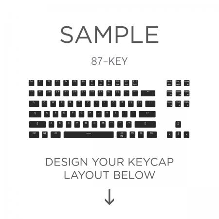 AN EXAMPLE: Max Keyboard ANSI 87-Key Layout Custom Backlight Keycap Set
