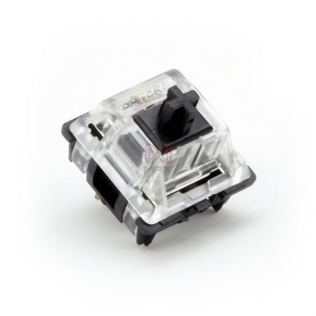 Gateron KS Black Key Switch (Linear 60g)